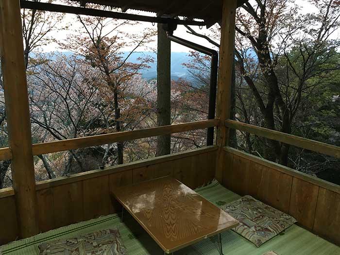 子守茶屋からの眺め